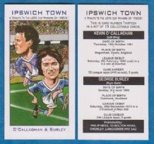Ipswich Town Kevin O`Callaghan & George Burley 13